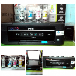 EPSON L 405  3IN1 (PRINT+COPY+SCAN) + WIFI